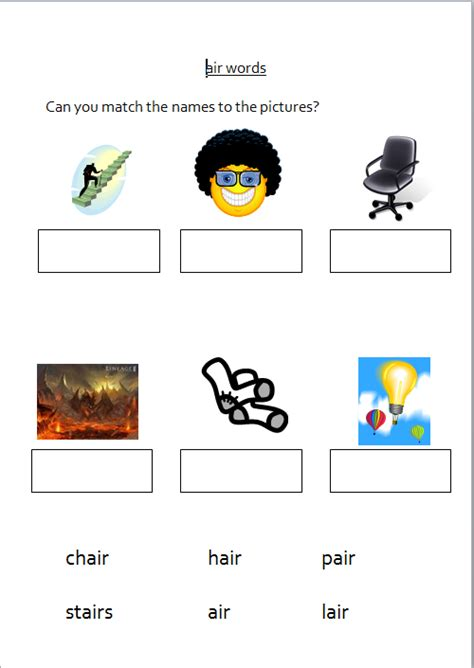 worksheets for year 3 children to revise the phonics from