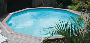 Piscine Semi Enterrée Composite : la piscine hors sol en bois composite tendance et durable ~ Dailycaller-alerts.com Idées de Décoration