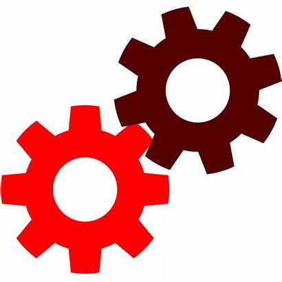 Gears Gear Clipart Cogs Cog Yellow Clip
