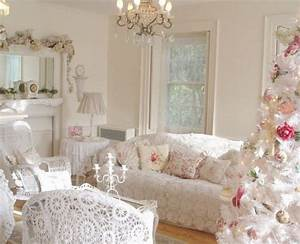 Living Rooms : 15 Charming Shabby Chic Decorating Ideas