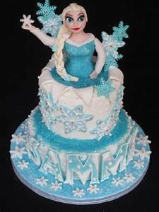 Frozen Cake Elsa - Fondant Cake Images