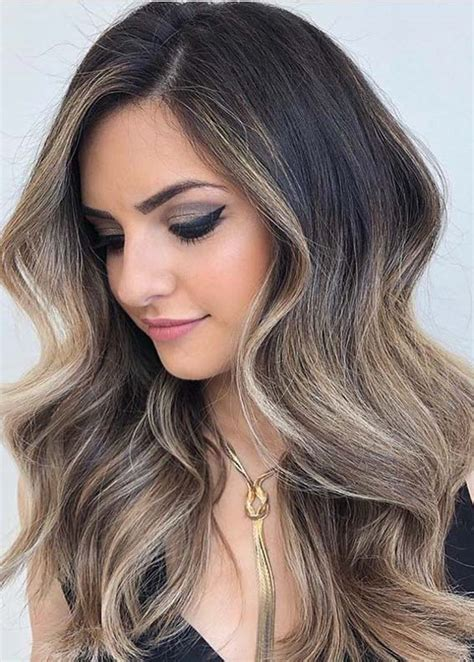 Perfect Balayage Highlights With Dark Roots Year