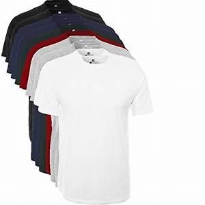 Weiße t shirts 10er pack herren