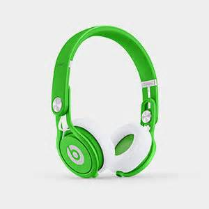 Amazon Beats Mixr Wired Ear Headphone Neon Green