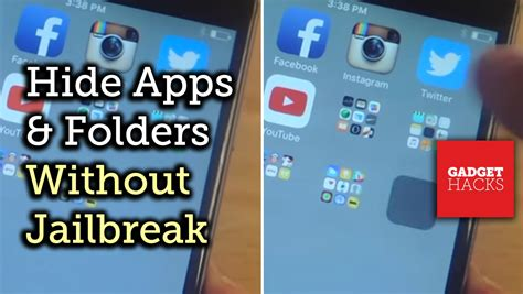 hide apps in iphone hide secret apps in invisible folders on your i