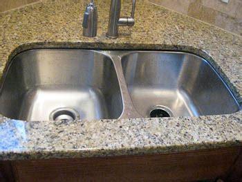 undermount granite kitchen sinks undermount sinks in granite countertops 6585