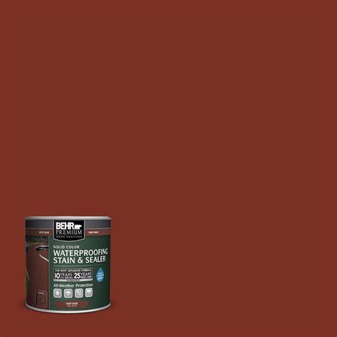behr premium  oz sc redwood solid color