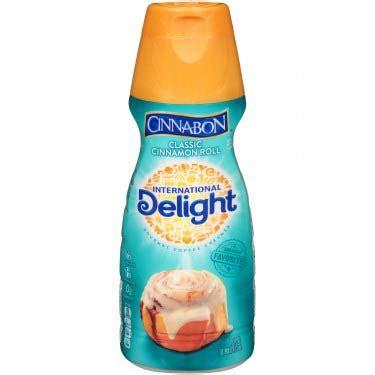 Cinnamon maple coffee creamer & folgers jingle contest. SuperMax | DELIGHT CINNABON CREAMER 16 OZ