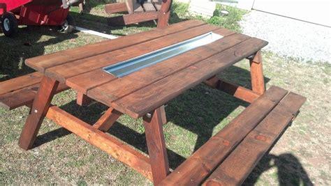 pallet wood picnic table   gutter  todd mcdonald