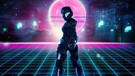 wallpaper  robot armor sci fi