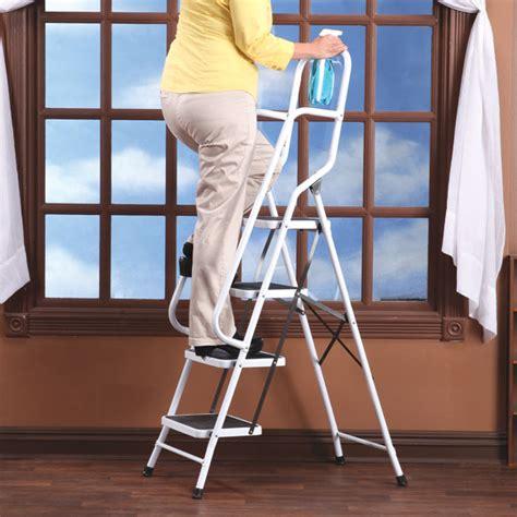 folding  step ladder  handrails folding ladder
