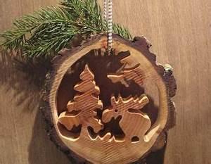 Basteln Mit Baumscheiben : basteln mit baumscheiben elchlein im wald aus einer ~ Watch28wear.com Haus und Dekorationen