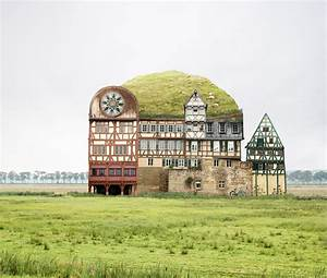 Unusually beautiful architectural collages by matthias for Unusually beautiful architectural collages by matthias jung