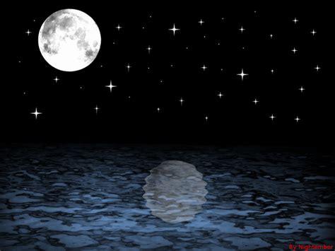 Night Time Ocean By Nightember On Deviantart