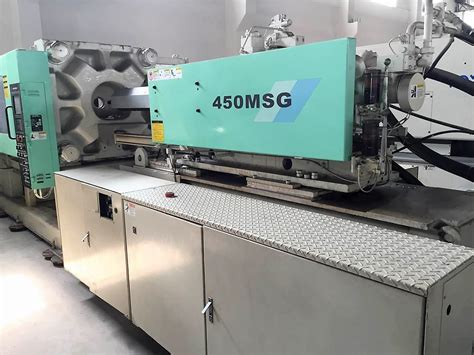 Mitsubishi Injection Molding by Mitsubishi 450t 450msg Used Injection Moulding Machine
