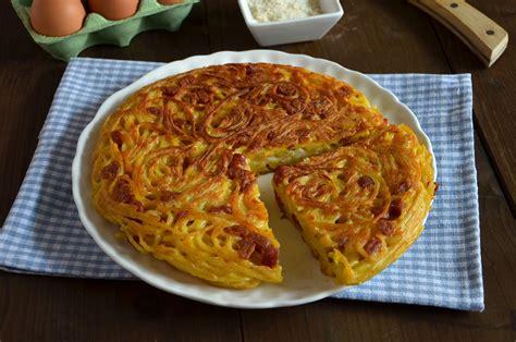 ricette cucina imperfetta ricetta frittata di pasta la ricetta della cucina imperfetta
