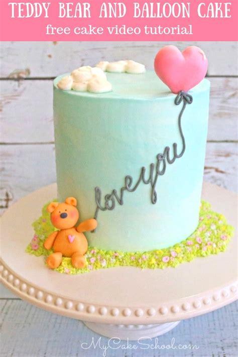 Easy Teddy Bear Cake
