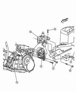 2011 Dodge Dakota Support  Engine Mount  Transmission To