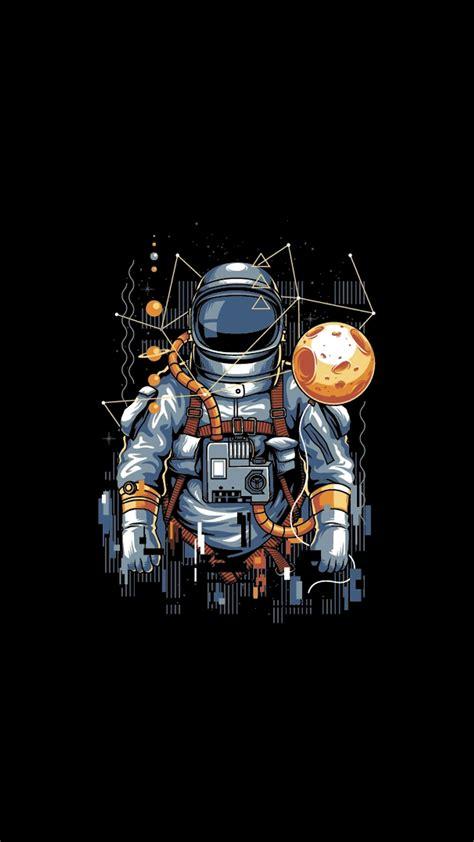Dark star and cosmic lux splash 4k. Astronaut amoled phone wallpaper in 2020 | Astronaut wallpaper, Space art, Wallpaper space