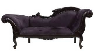 chaise lounge black