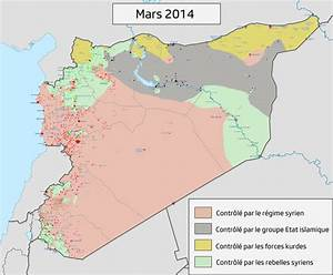 Map: Syrian Civil War, from March 2014 to March 2017 ...