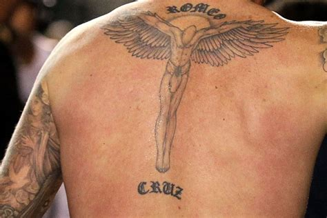 david beckhams coolest tattoos  pictures fashionbeans