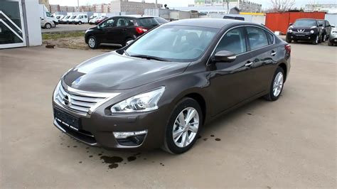 Nissan Teana Picture by 2014 Nissan Teana Start Up Engine And In Depth Tour