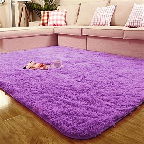 soft bedroom rugs actcut soft indoor modern shag area silky smooth fur