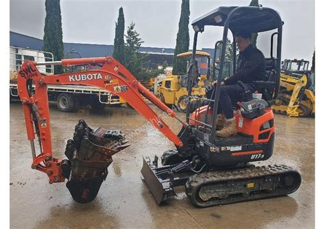 kubota  excavator  listed  machinesu