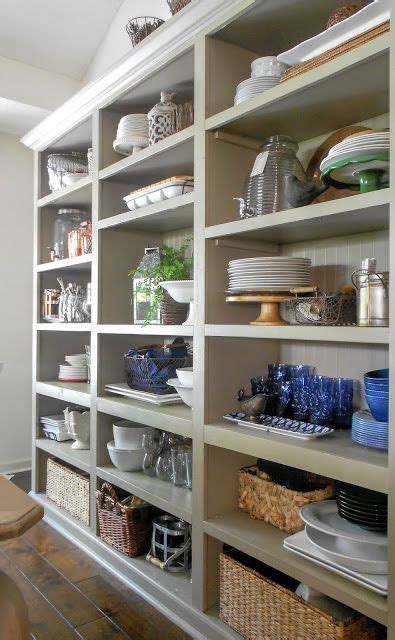 I Absolutely Love These Open Shelves In The Dining Room