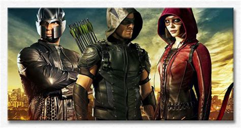 green arrow tv series   dc comics justice league