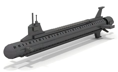 Lego Mini U Boat by How To Build Lego Mini Virginia Class Style Submarine