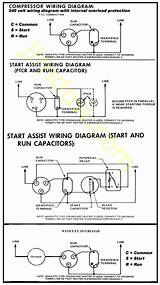 Single Phase Compressor Wiring Diagram With Relay