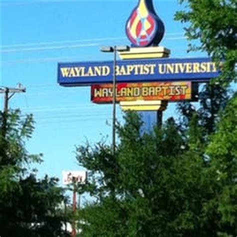wayland baptist university university colleges 11550
