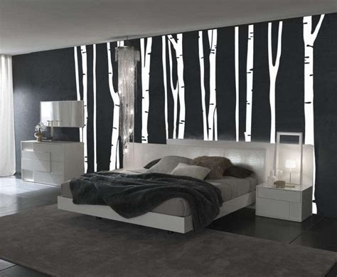 Black And White Bedroom Wall Design by Bedroom Wall Painting Designs Black And White Exles