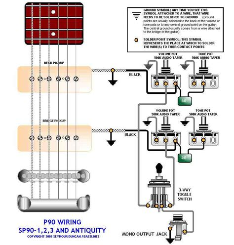 Wiring For Les Paul Gibson Hollowbody Pickups