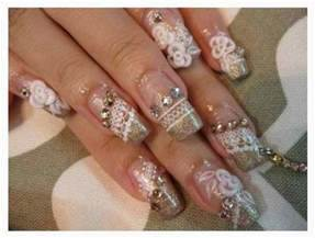 Nail art quality maintaining extensions for wedding