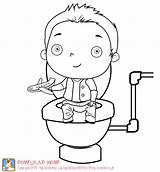 Potty Training Coloring Pages Elmo Toilet Boys Activities Baby Fun Itunes Apple Children Worksheets Therapy Template Party Kid Cute App sketch template