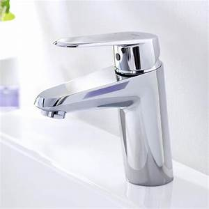 Grohe Eurodisc Cosmopolitan : grohe eurodisc cosmopolitan single lever basin mixer with flow rate limiter s size without ~ Eleganceandgraceweddings.com Haus und Dekorationen