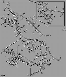 Frame - Cutter  Rotary John Deere Mx6