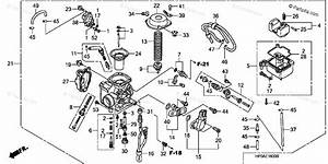 Honda Atv 2008 Oem Parts Diagram For Carburetor