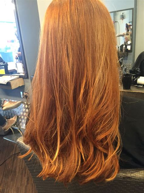 Copper Hair Rose Gold Hair Blonde Highlights Ginger