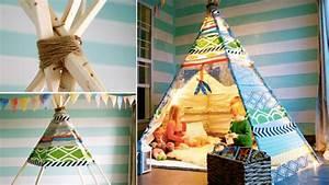 Fabriquer Tipi Enfant : comment fabriquer un tipi pour enfant ~ Voncanada.com Idées de Décoration