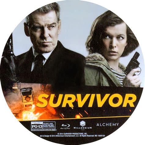 Covers Movie Gtba Survivor (2015)  Cover & Label Bluray