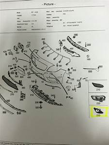 Cla 250 Fog Lights Diagram And Part Numbers
