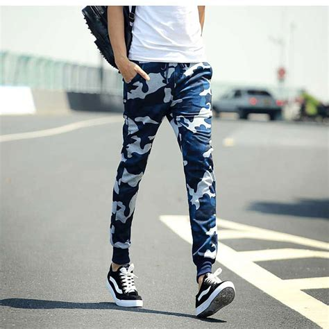 Camo Joggers New Arrival Casual Mens Skinny Joggers Camouflage Pants Harem Style Sweatpants ...
