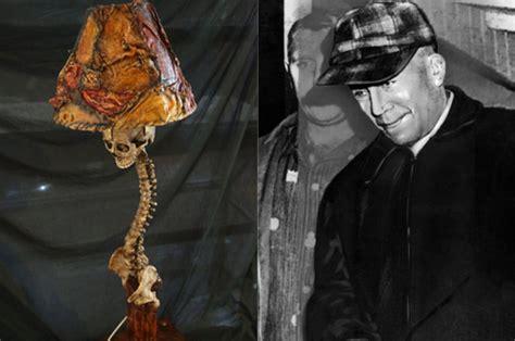ed gein chair prop grave robbing serial killer ed gein inspires range of