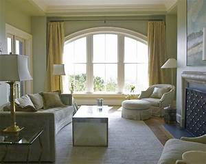 20 sumptuous living room designs with arched windows rilane With wooden window designs for living room