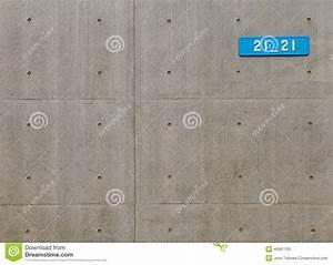 Plaque Isolante Mur : mur en b ton de plaque de rue image stock image du ~ Melissatoandfro.com Idées de Décoration