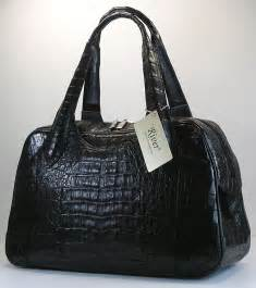 designer handbag black designer genuine crocodile handbags